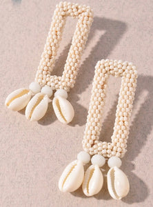 Neutral Seashell Drops