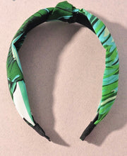 Load image into Gallery viewer, Summer Palm Print Headband