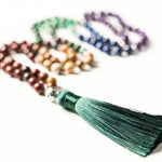 7 Chakra Natural Stone Alignment Mala