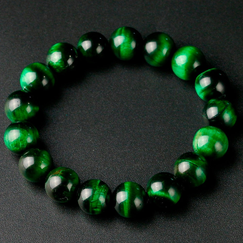 Green Tiger Eye Bracelet