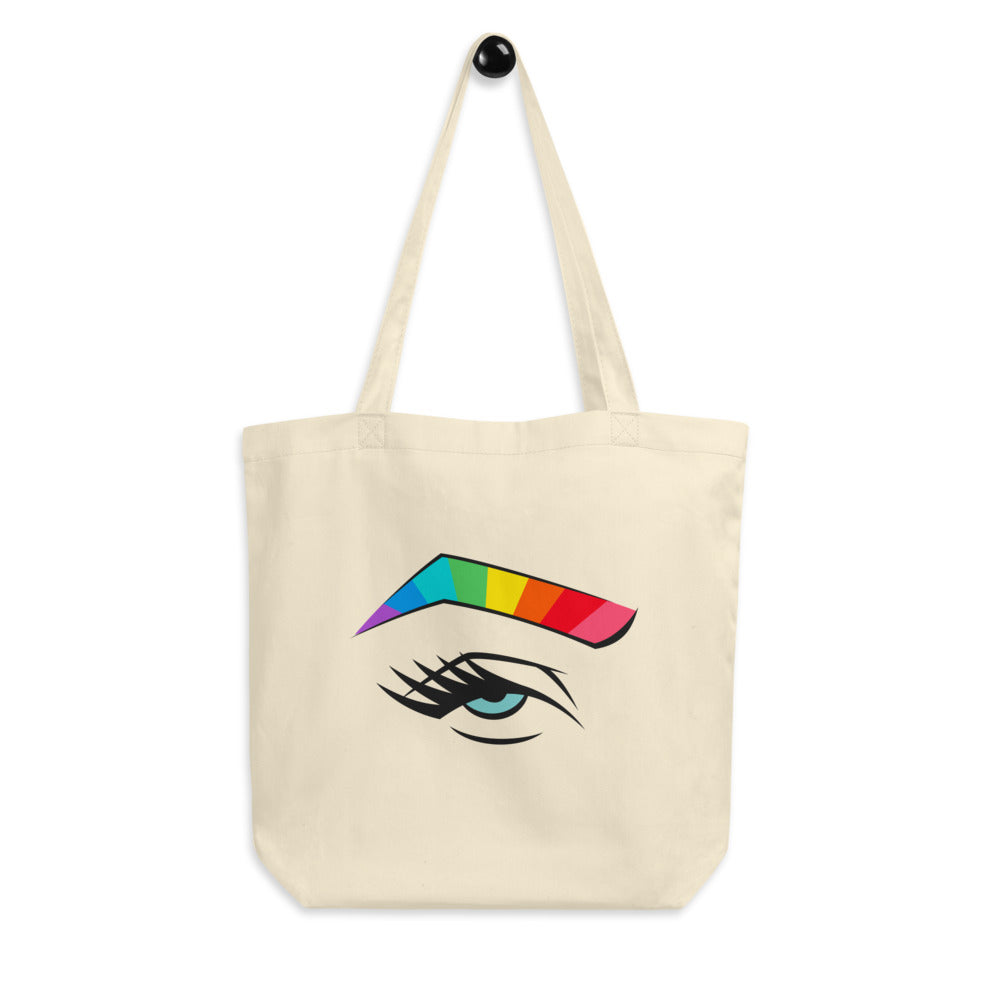 rainbrow - tote in blue eye
