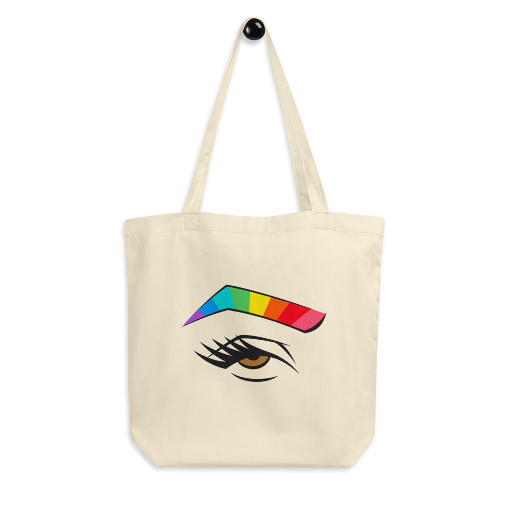 rainbrow - tote in amber eye