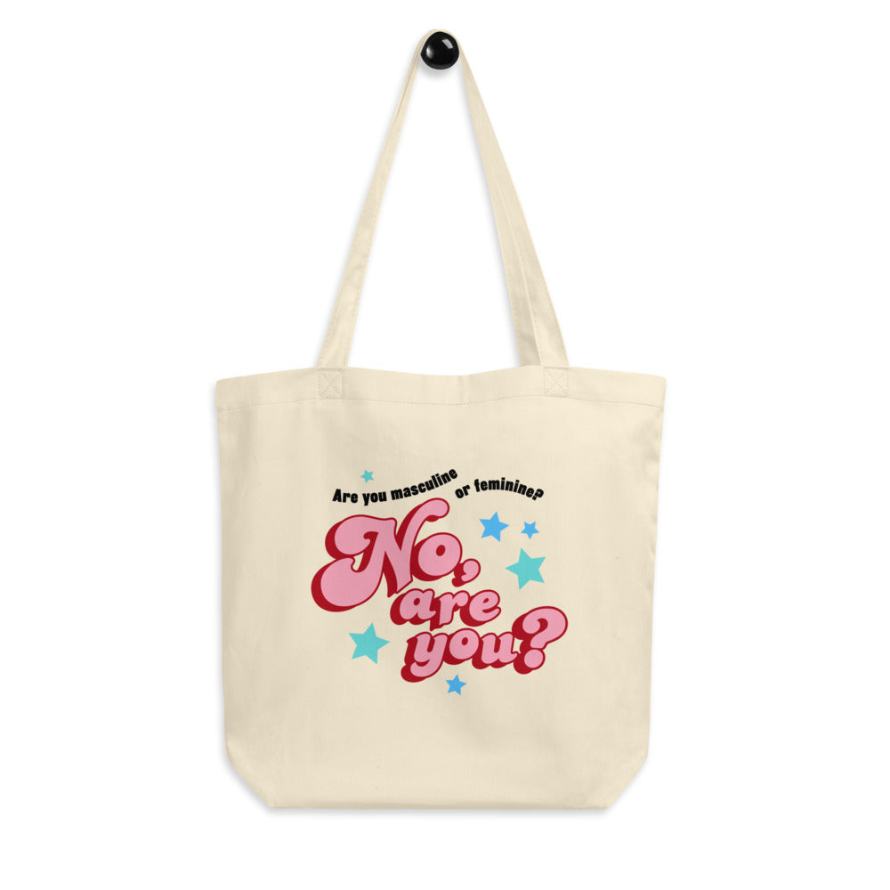 are you masculine or feminine - tote