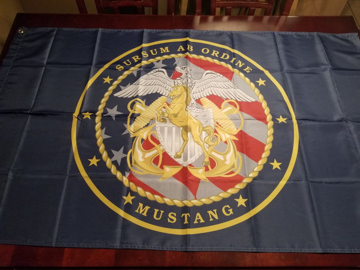 Custom 3x5ft Mustang Flag