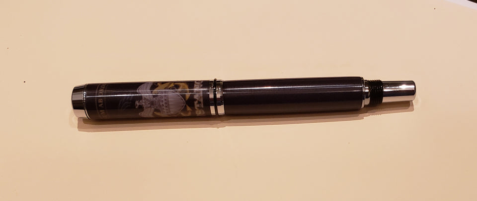 U.S. Navy Mustang Navigator Rollerball Pen with Carbon Fiber Look