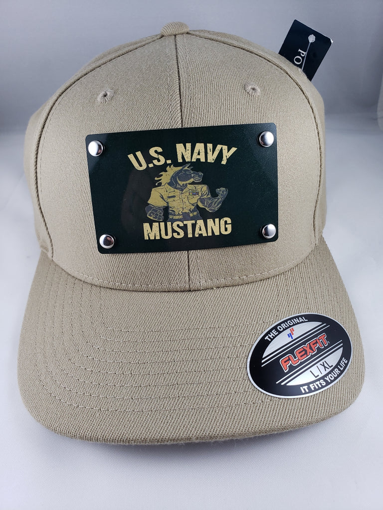 U.S. Navy Mustang Flex Fit Hat