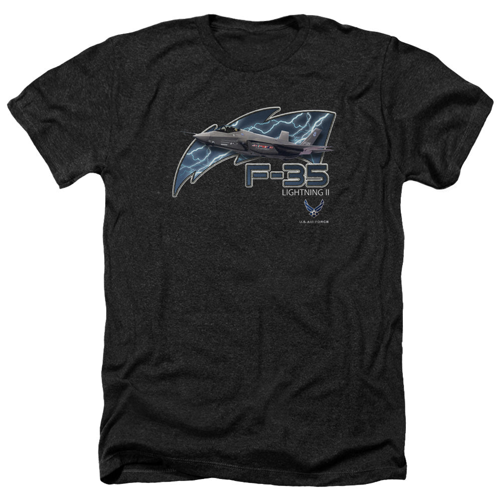 AIR FORCE/F35-ADULT HEATHER-BLACK