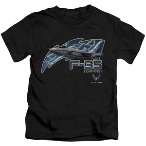 AIR FORCE/F35-S/S JUVENILE 18/1-BLACK