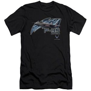 AIR FORCE/F35-S/S ADULT 30/1-BLACK