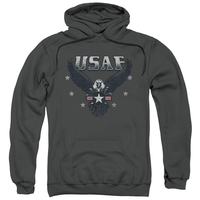 AIR FORCE/INCOMING-ADULT PULL-OVER HOODIE-CHARCOAL