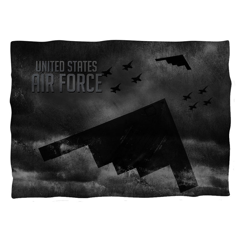 AIR FORCE/STEALTH-PILLOW CASE-WHITE-ONE SIZE