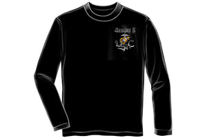 Chrome dog Sempri fi Long Sleeve T-Shirt