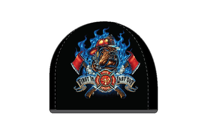 FIRST IN LAST OUT FIREFIGHTER BEANIE