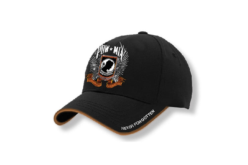 POW MIA CHROME WINGS CAP