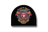 USMC FLAGS BADGE OF HONOR BEANIE