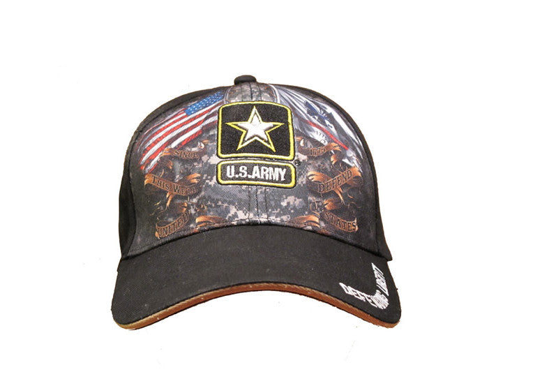 ARMY DOUBLE FLAGS CAP
