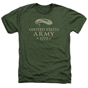 ARMY/WE'LL DEFEND - ADULT HEATHER - MILITARY GREEN