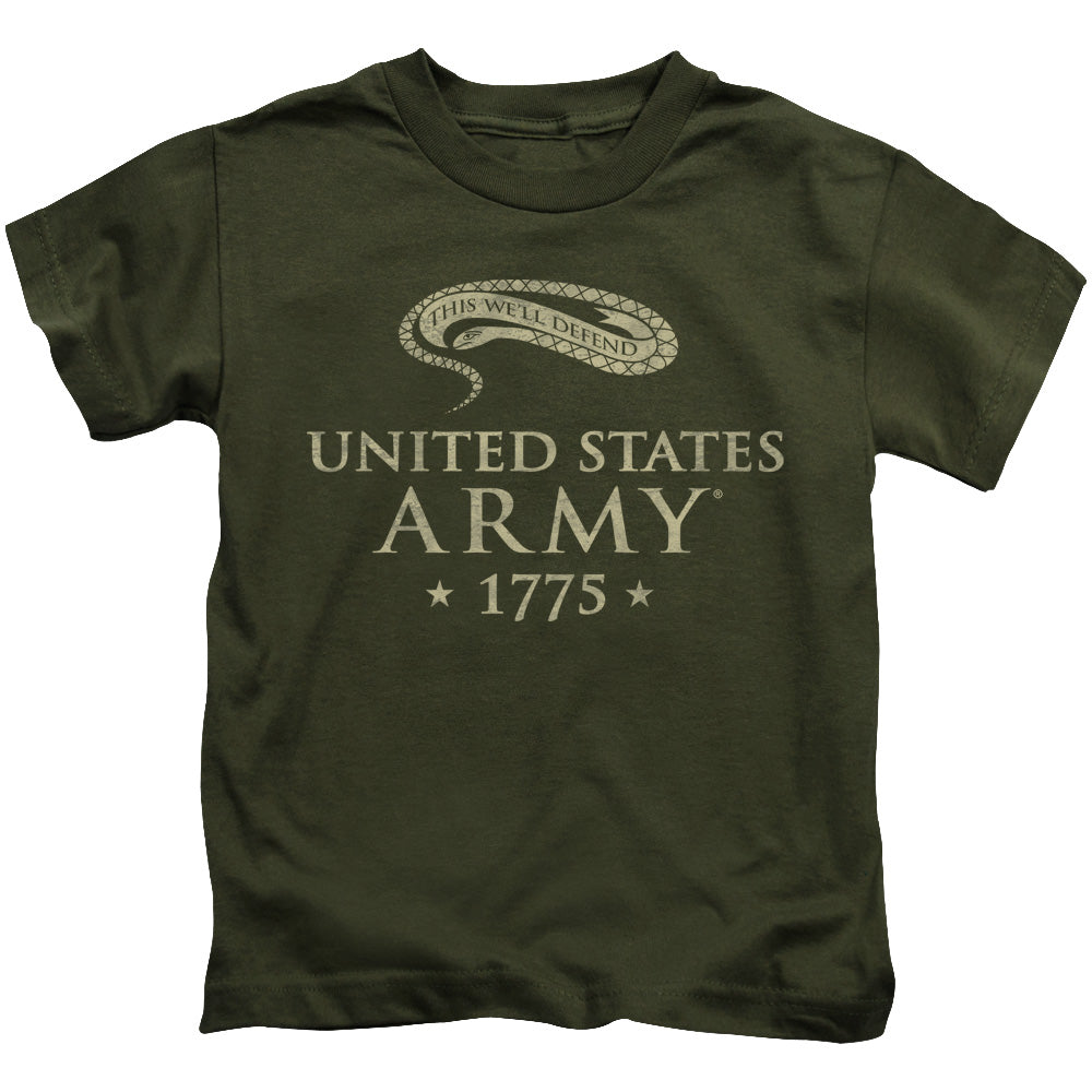 ARMY/WELL DEFEND - S/S JUVENILE 18/1 - MILITARY GREEN