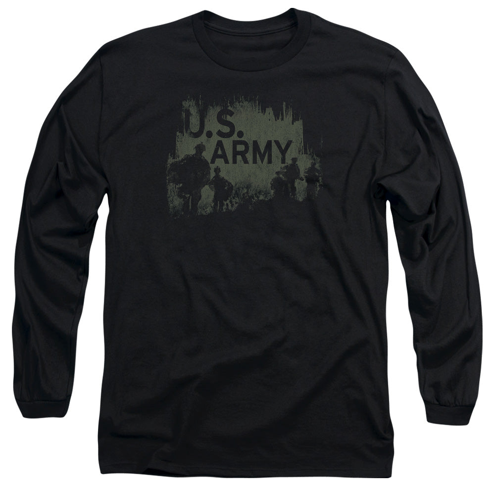 ARMY/SOLDIERS - L/S ADULT 18/1 - BLACK
