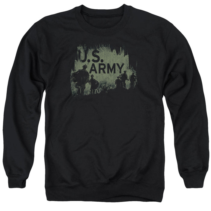 ARMY/SOLDIERS - ADULT CREWNECK SWEATSHIRT - BLACK
