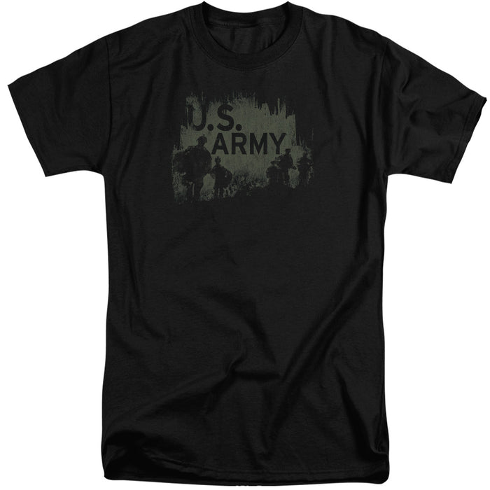 ARMY/SOILDERS-S/S ADULT TALL-BLACK
