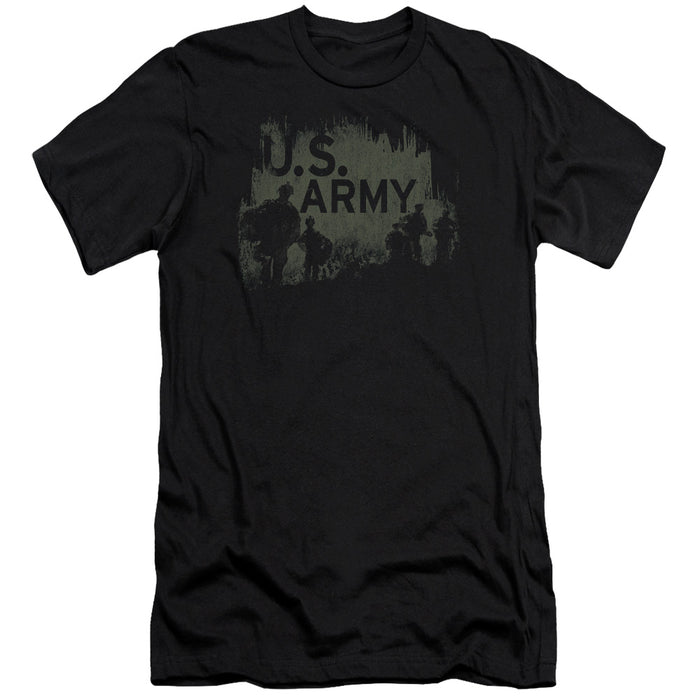 ARMY/SOLDIERS-PREMUIM CANVAS ADULT SLIM FIT 30/1-BLACK