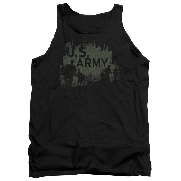 ARMY/SOLDIERS - ADULT TANK - BLACK