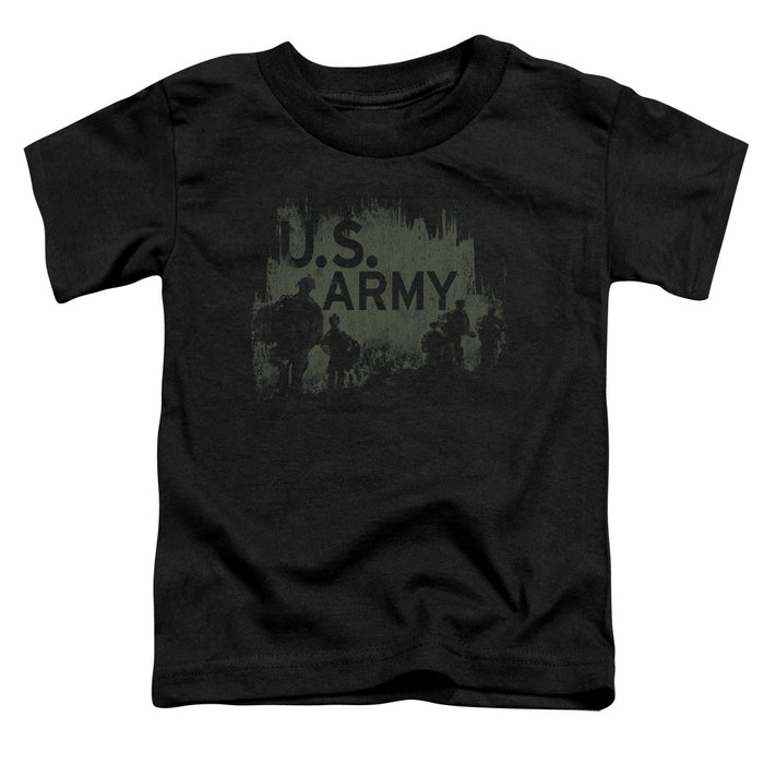 ARMY/SOLDIERS - S/S TODDLER TEE - BLACK
