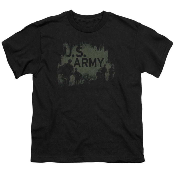 ARMY/SOLDIERS - S/S YOUTH 18/1 - BLACK