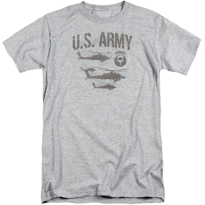ARMY/AIRBORNE-S/S ADULT TALL-ATHLETIC HEATHER