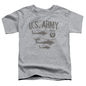 ARMY/AIRBORNE - S/S TODDLER TEE - ATHLETIC HEATHER