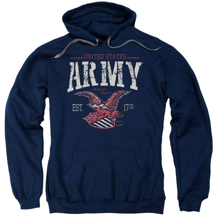 ARMY/ARCH-ADULT PULL-OVER HOODIE-NAVY