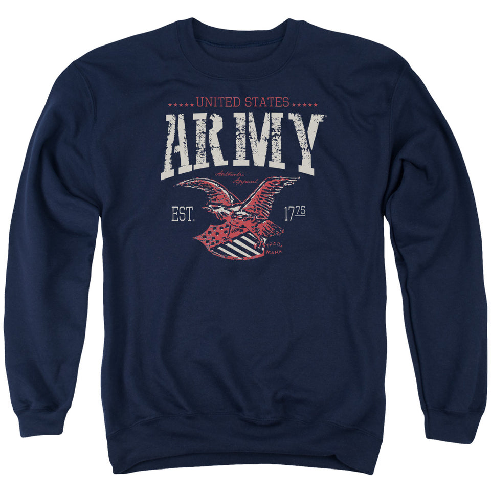 ARMY/ARCH - ADULT CREWNECK SWEATSHIRT - NAVY