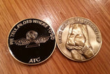 Air Traffic Control Challenge Coin (Black)