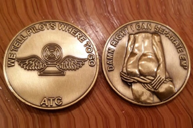 Air Traffic Contol Challenge Coin