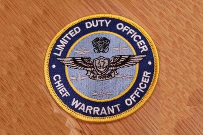LDO/CWO Air Warfare Patch