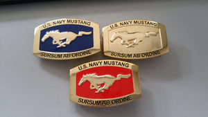 Mustang Belt Buckles (Various Colors)