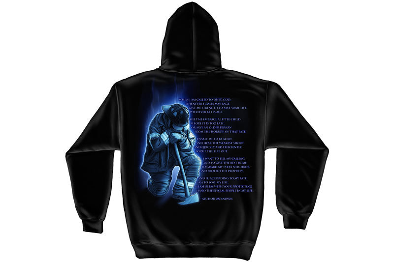 Fireman's Prayer Hooded Sweatshirt