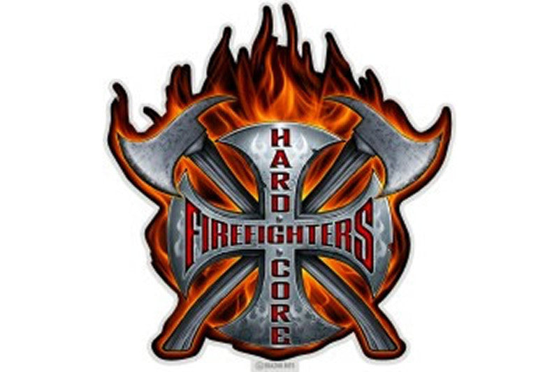 Firefighters Reflective Decal