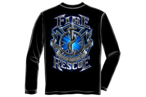 Fire Rescue Long Sleeve T-Shirt