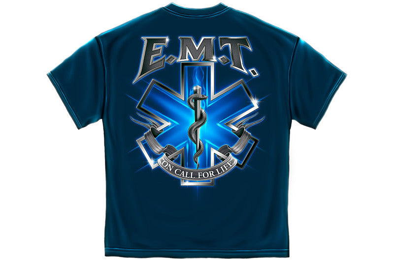 Silver Snake EMT On Call Short Sleeve T Shirt