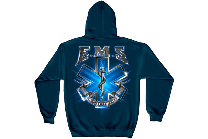 On Call For Life EMS Hooded Sweatshirt