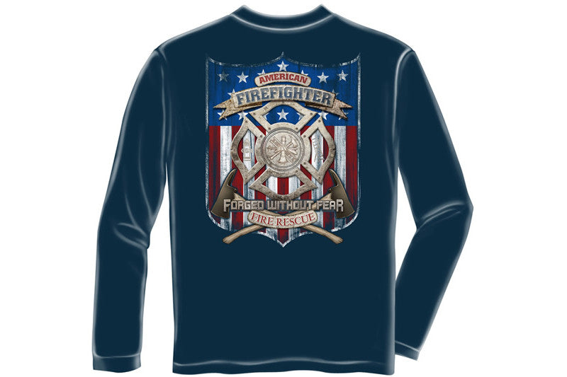 American Firefighter Long Sleeve T-Shirt