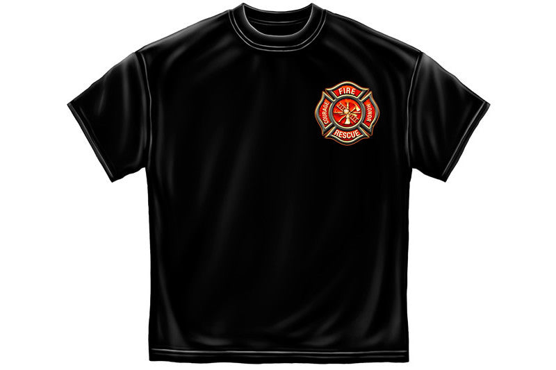 Classic Fire Maltese Short Sleeve T Shirt