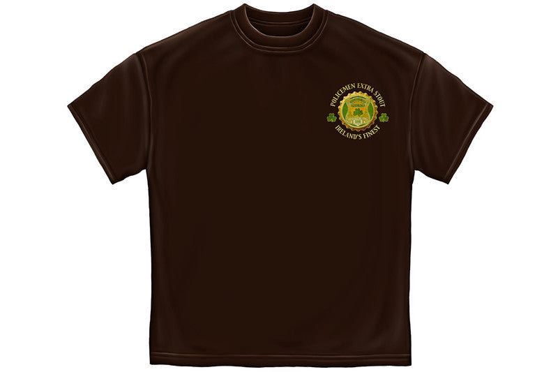 Police Irelands Finest Short Sleeve T Shirt