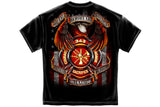 True Hero Firefighter Short Sleeve T Shirt