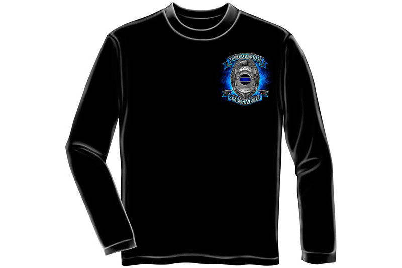 Honor our fallen officers Long Sleeve T-Shirt