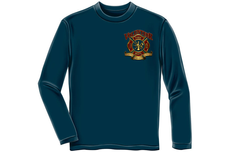 Volunteer Firefighter Long Sleeve T-Shirt