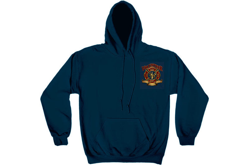 Volunteer Firefighter Hooded Sweatshirt