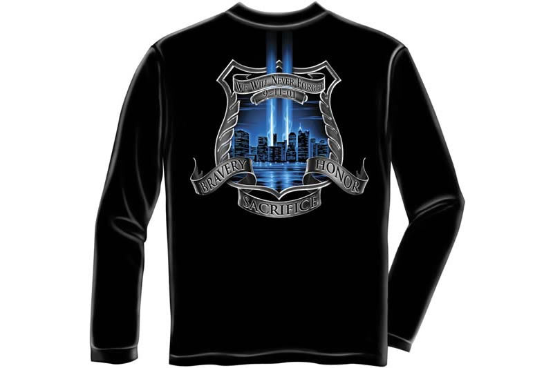After Math 911 Police Long Sleeve T-Shirt